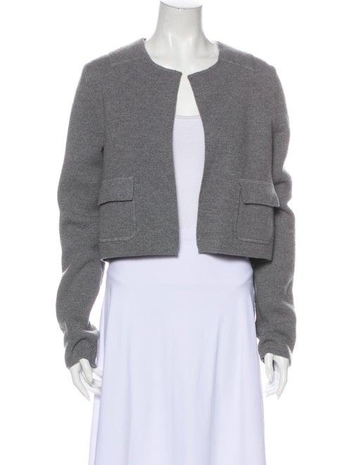 Marni Wool Open Front Sweater Wool
