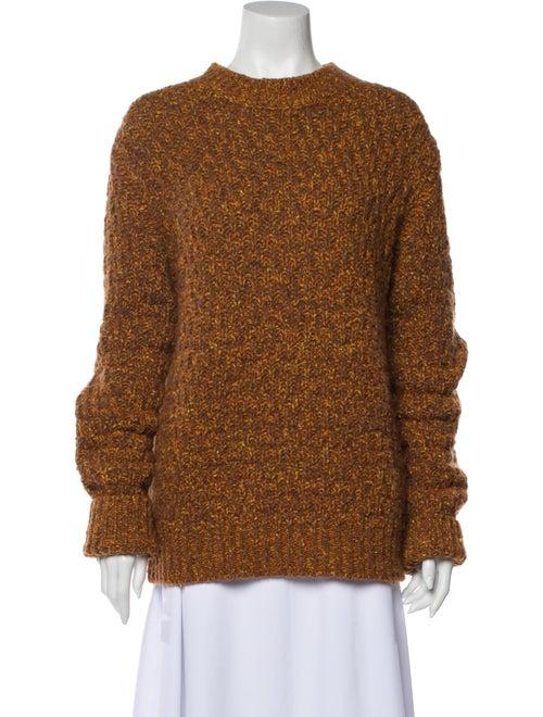 Marni Crew Neck Sweater Orange