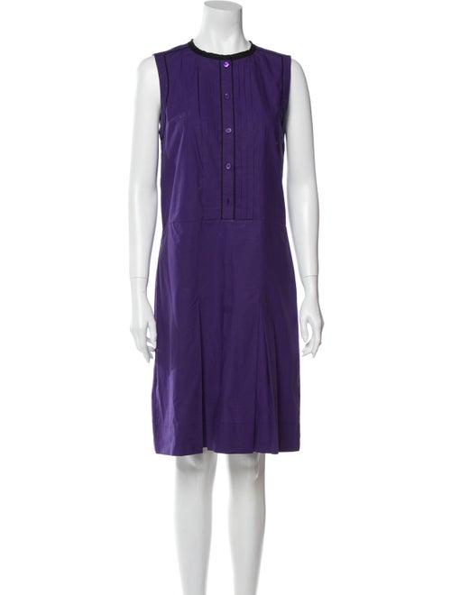 Marni 2013 Knee-Length Dress Purple