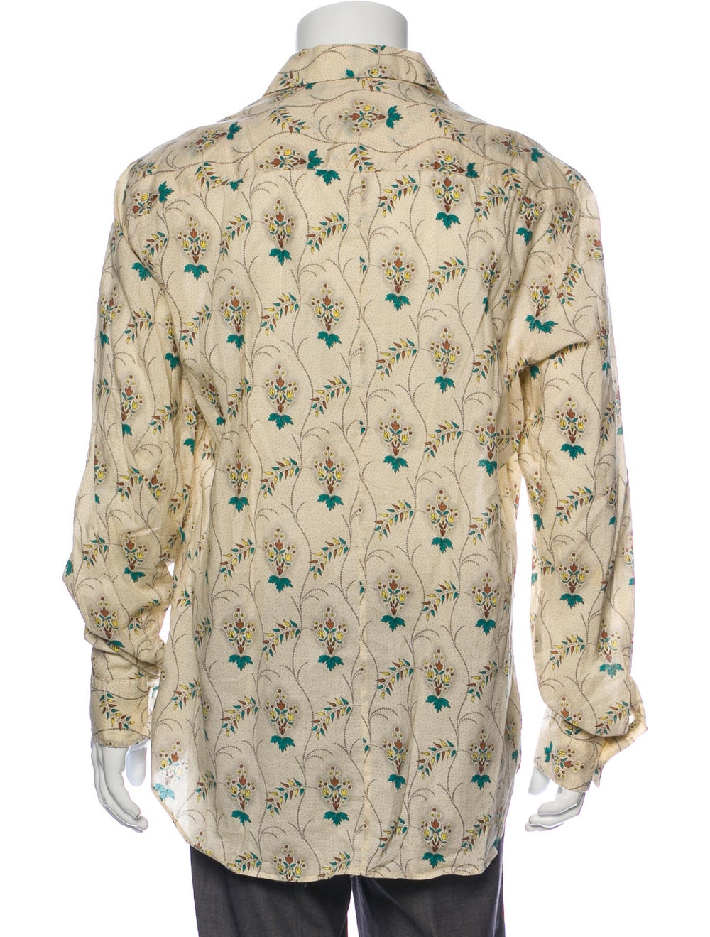 Marni Graphic Print Long Sleeve Shirt - image 3
