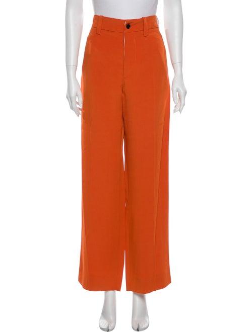 Marni Wide Leg Pants Orange
