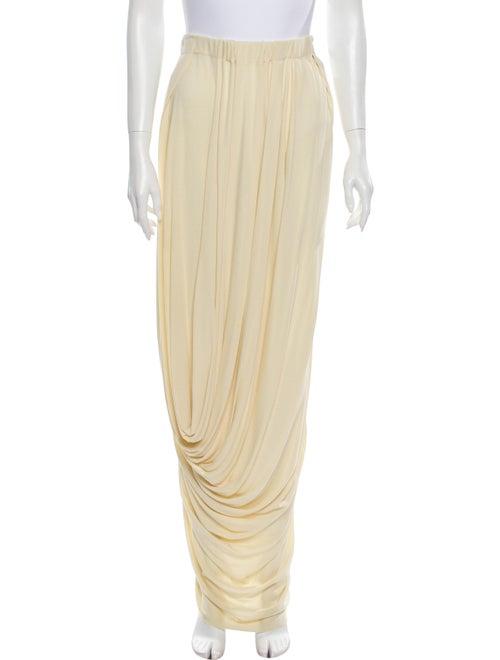 Marni Long Skirt Yellow