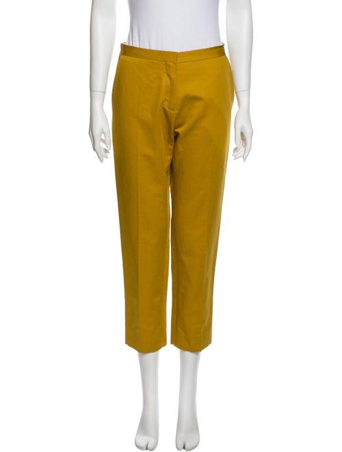 Marni Straight Leg Pants Yellow