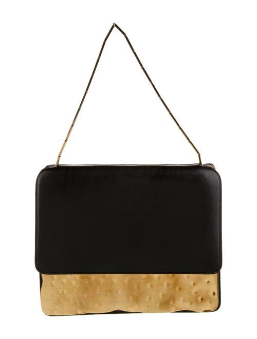 Marni Cache Shoulder Bag Black