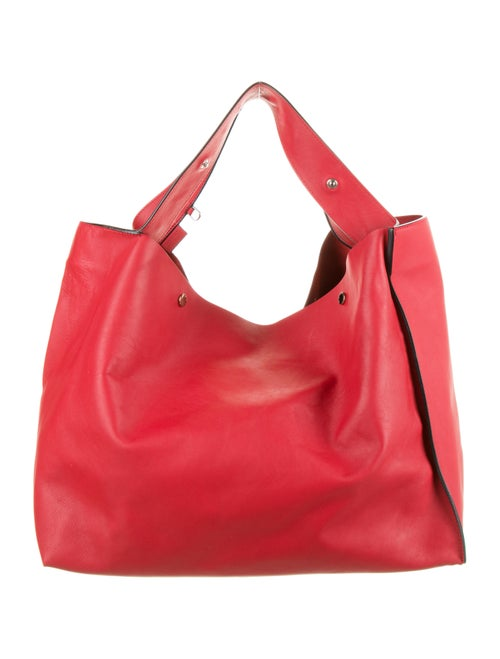 Marni Voile Shopper Hobo Red