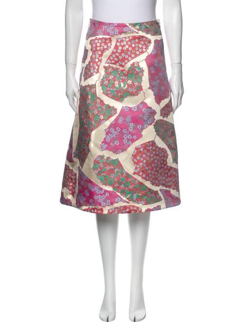 Marni 2019 Knee-Length Skirt w/ Tags Metallic