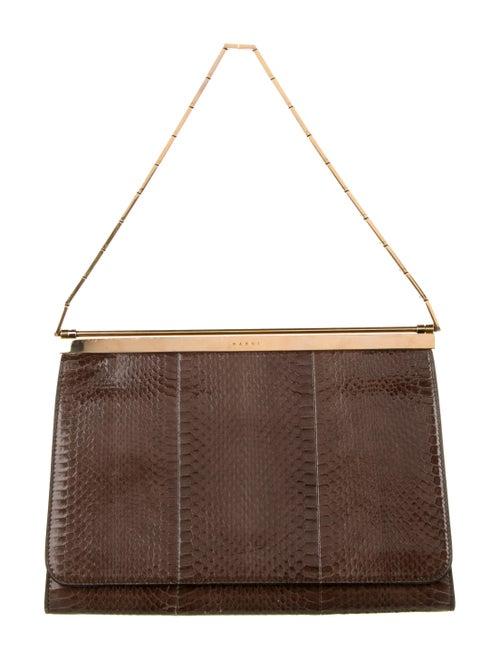 Marni Caché Handbag Brown