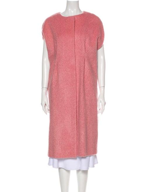 Marni Mohair Coat Pink