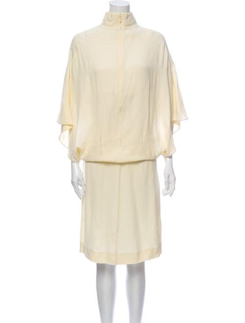 Marni Turtleneck Midi Length Dress