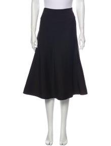 Marni Wool Midi Length Skirt