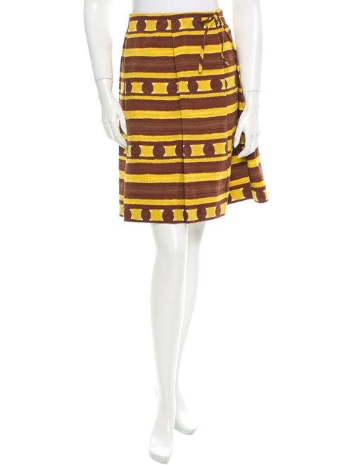 Marni Printed Skirt Yellow