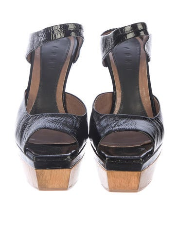 Platform Slide Sandals