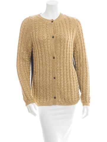 Marni Metallic Cardigan None