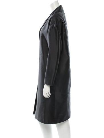 Wool-Silk Blend Coat