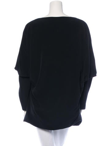 Long Sleeve Oversize Blouse