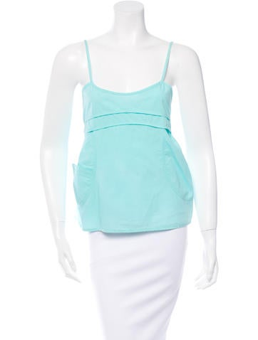 Marni Sleeveless Cropped Top None