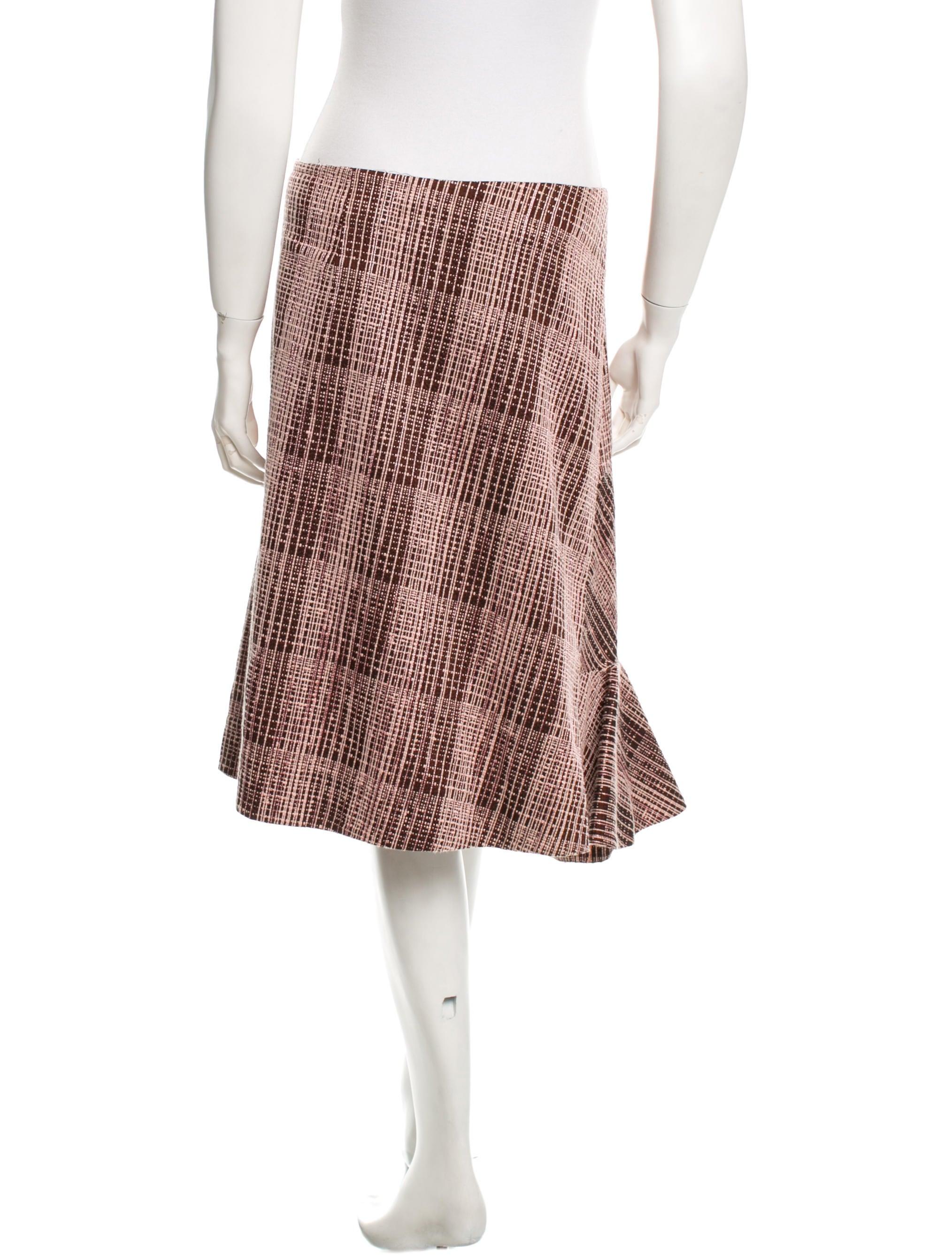 marni plaid midi skirt clothing man41215 the realreal