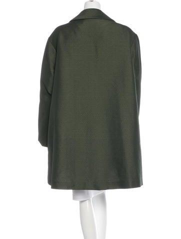 Long Sleeve Tweed Coat