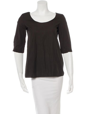 Marni Three-Quarter Sleeve Top None