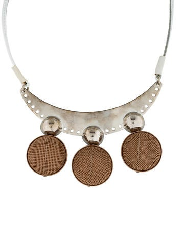 Deco Leather Collar necklace