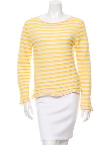 Marni Striped Cashmere Top None