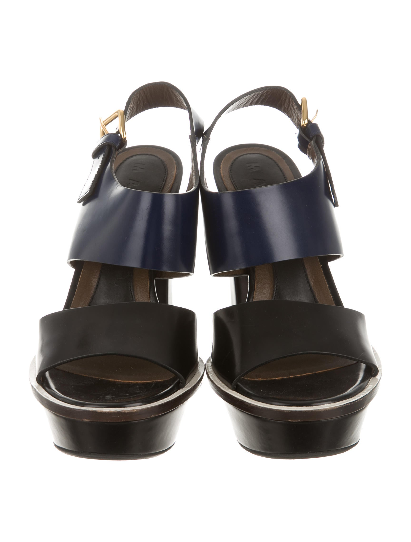 marni leather platform sandals shoes man44952 the