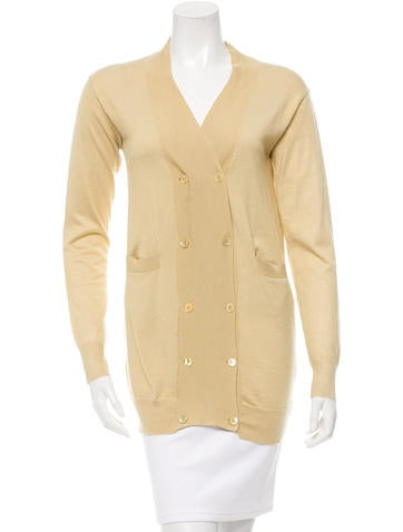 Marni Double-Breasted V-Neck Cardigan None