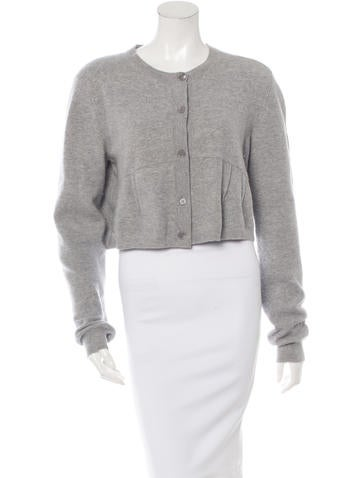 Marni Long Sleeve Cropped Cardigan None