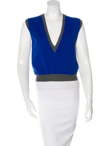 Marni Virgin Wool Colorblock Top w/ Tags None