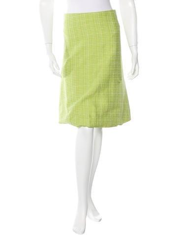 marni plaid knee length skirt clothing man46861 the