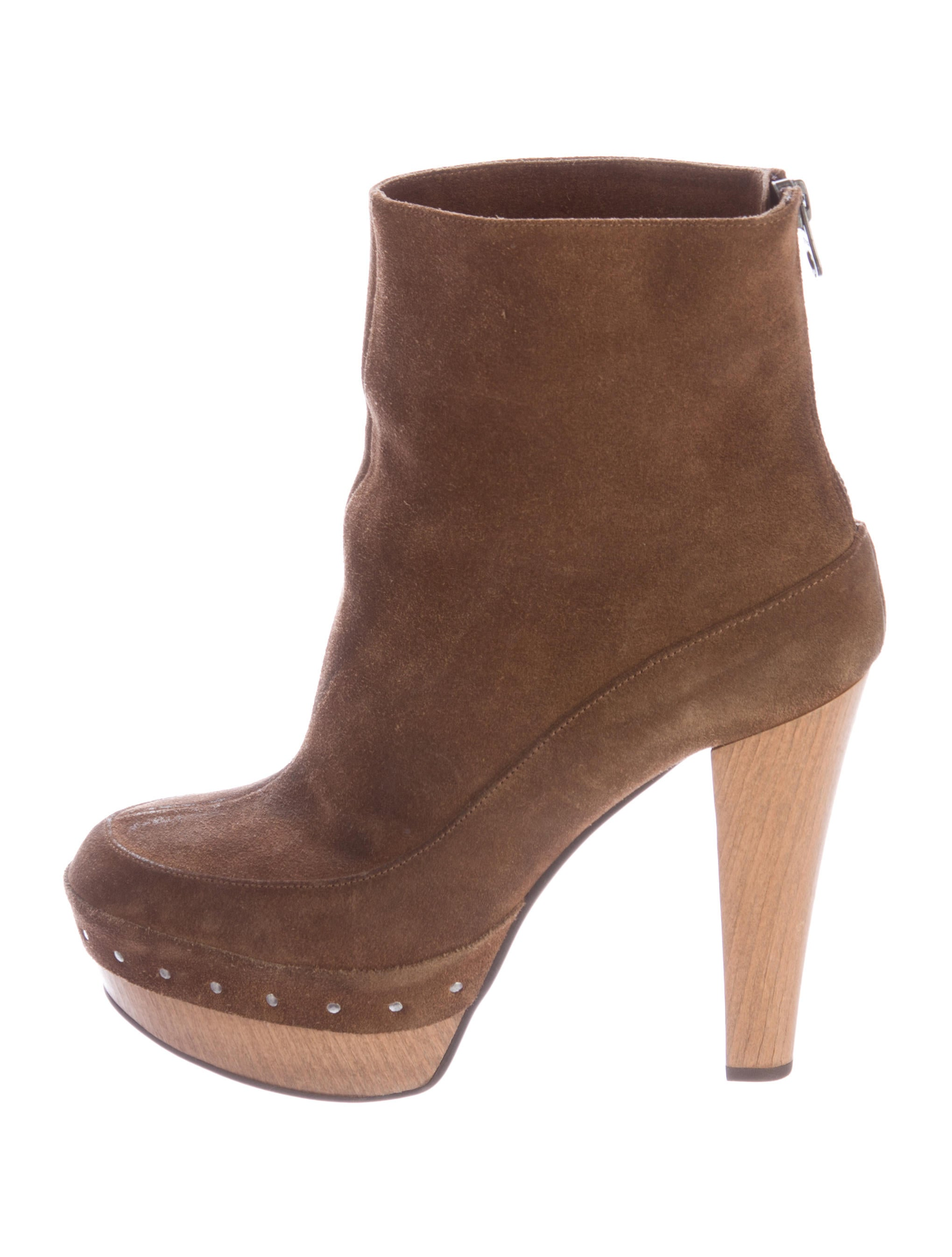 marni suede platform ankle boots shoes man47355 the