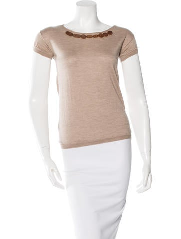 Marni Cashmere & Silk Top None