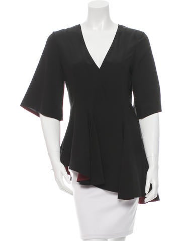 Marni Silk Asymmetrical Top w/ Tags None