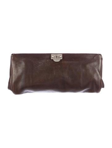 Marni Leather Frame Clutch