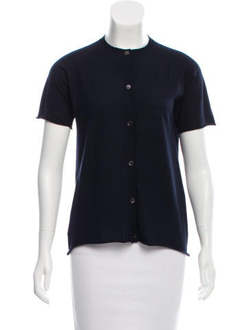 Marni Cashmere Button-Up Top None