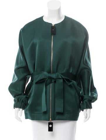 Marni Resort 2016 Satin Oversize Jacket w/ Tags