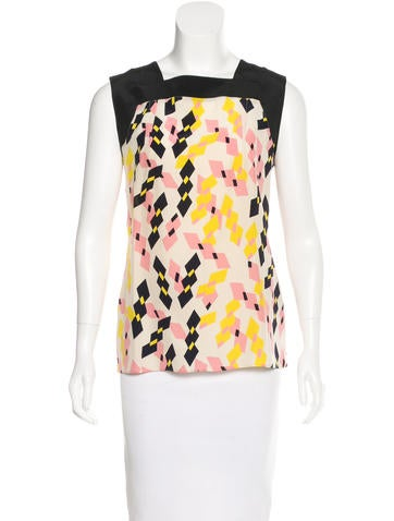 Marni Silk Printed Top None