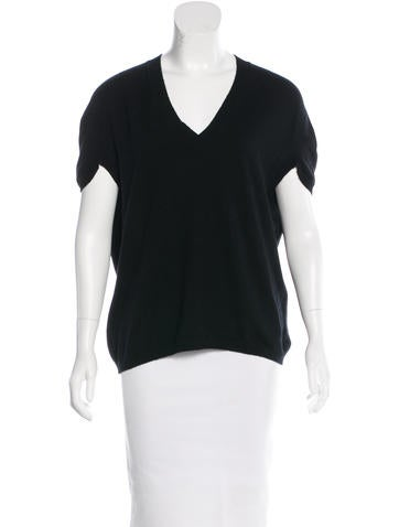 Marni Cashmere Short Sleeve Sweater None
