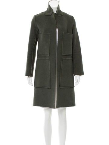 Marni Wool & Cashmere-Blend Coat None