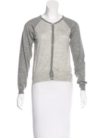Marni Cropped Cashmere Cardigan None