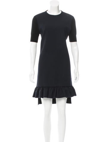 Marni Wool-Back Shift Dress None