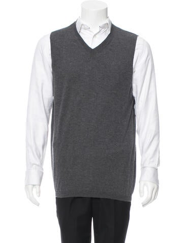 Marni Cashmere V-Neck Vest None