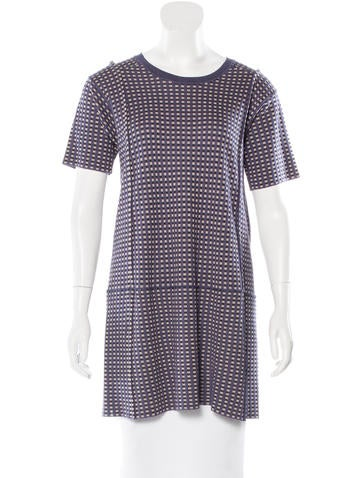Marni Checked Crew Neck Tunic None