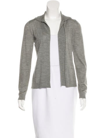 Marni Cashmere Open Front Cardigan None