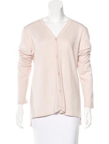 Marni V-Neck Cashmere Cardigan None