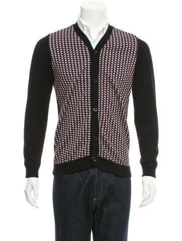 Marni Patterned V-Neck Cardigan None