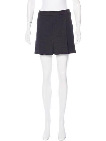Marni Pleated Mini Skirt w/ Tags