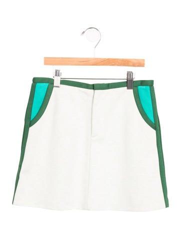 Marni Girls' Colorblock A-Line Skirt w/ Tags