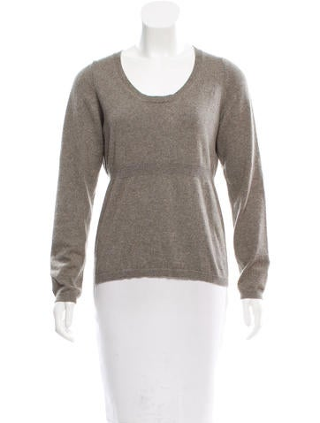 Marni Cashmere Scoop Neck Sweater None