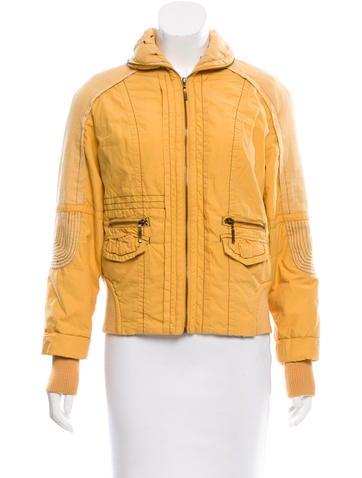 Marni Rib Knit Trim Lightweight Jacket None